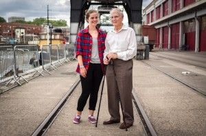 """""""He taught me how to roller-skate.""""  #bristol #england #rollerskate #grandfather"""