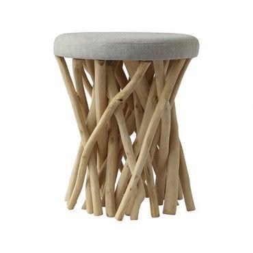 Rimba Stool - Uniqwa Furniture | $179.00 - Milan Direct