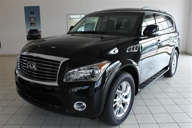 2014 Infiniti QX80 Base 4x4 4dr SUV SUV 4 Doors Black for sale in Cleveland, OH Source: http ...