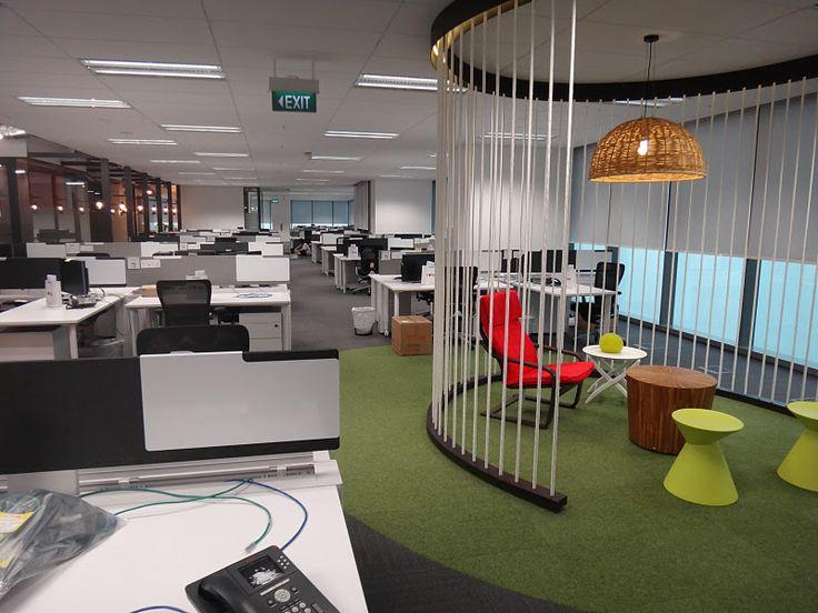 Corporate Office Paint Design Deloitte