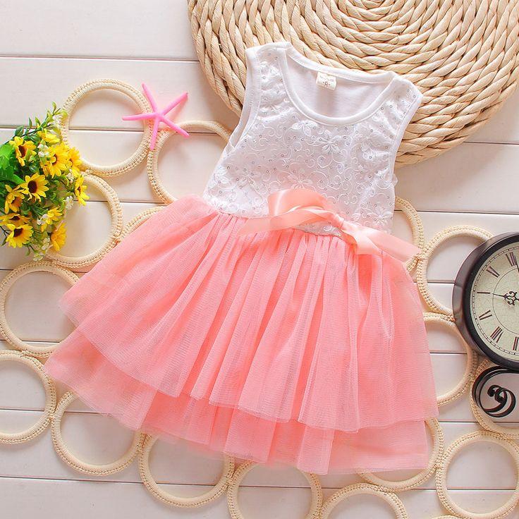 Girls Party Princess Dress
