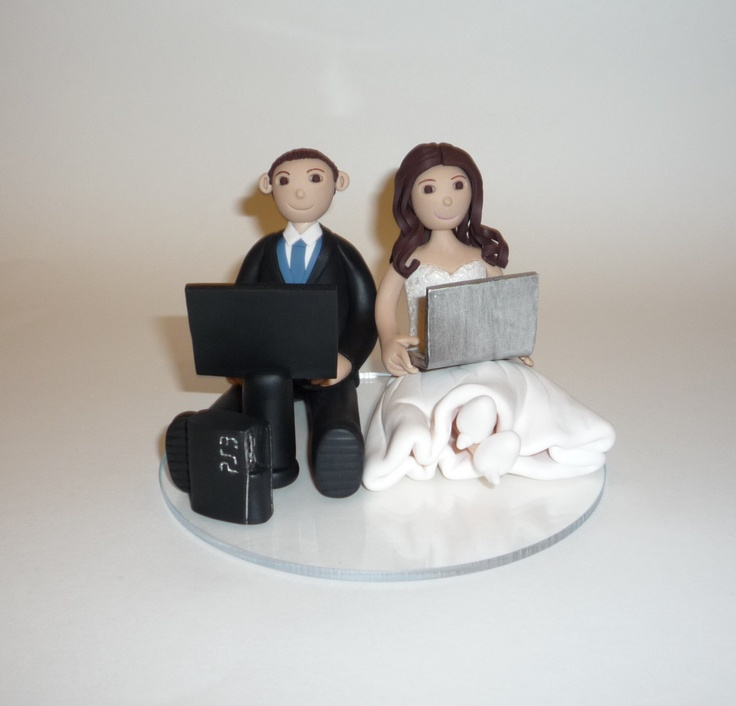 games to play at couples wedding shower%0A Enough with the bride dragging the groom away from his games  Here is a  perfect cake topper for the gamer couple