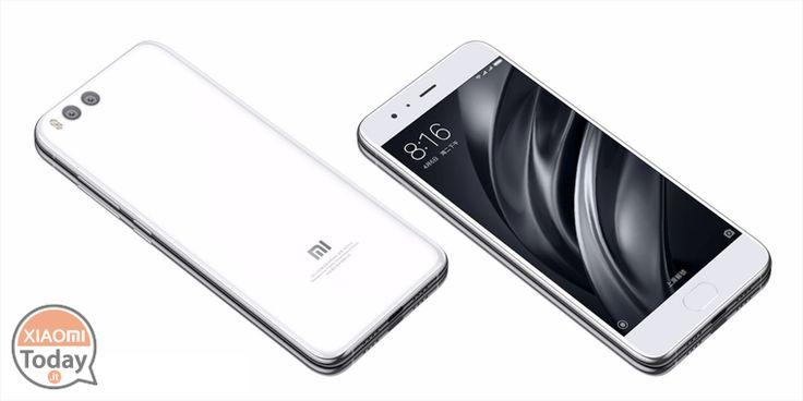 Manca il blu elettrico ...e allora diventa ufficiale Xiaomi Mi 6 bianco! #Xiaomi #Bianco #BrightWhite #Mi6 #Ufficiale #Xiaomi https://www.xiaomitoday.it/?p=22404