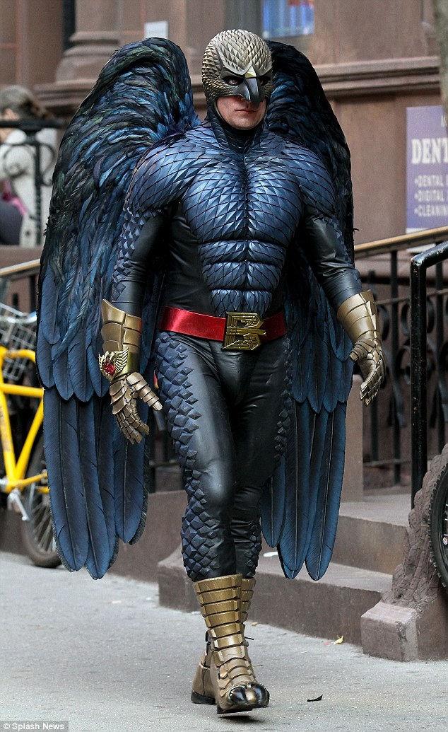 翼のあるバードマン