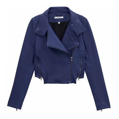 J Brand Connix Lamb Leather Jacket