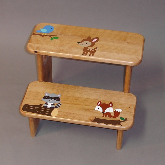 Toddler Step Stool Wood Woodworking Projects Amp Plans