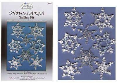 Quilling Kit : #403 Snowflakes
