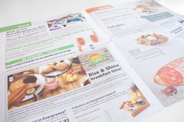 Discover a fully interactive restaurant menu in this project created by Dutch communications agency de Toekomst for food services company Albron. The newspaper-style menu is available at ten Grand Cafés at Center Parcs Holliday Villages in the Netherlands and Belgium. Restaurant staff has been trained to introduce the interactive menu to customers so they can unlock video content about the restaurant, reveal food and drink suggestions, and even vote for their favorite employee. Click for…