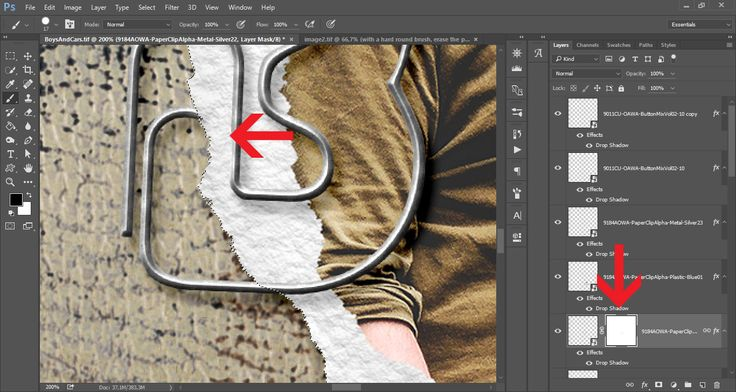 How to use paperclips in digital layouts | Anja De Dobbelaere