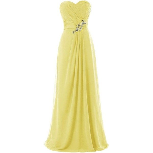 Ivydressing Long A-line Sweetheart Bridesmaid Prom Evening Ruched... (€61) ❤ liked on Polyvore featuring dresses, a line cocktail dresses, beige prom dresses, a line bridesmaid dresses, holiday dresses and a line prom dresses