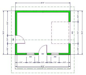 Back Yard Plan U2013 Pool House Plans | SDS Plans