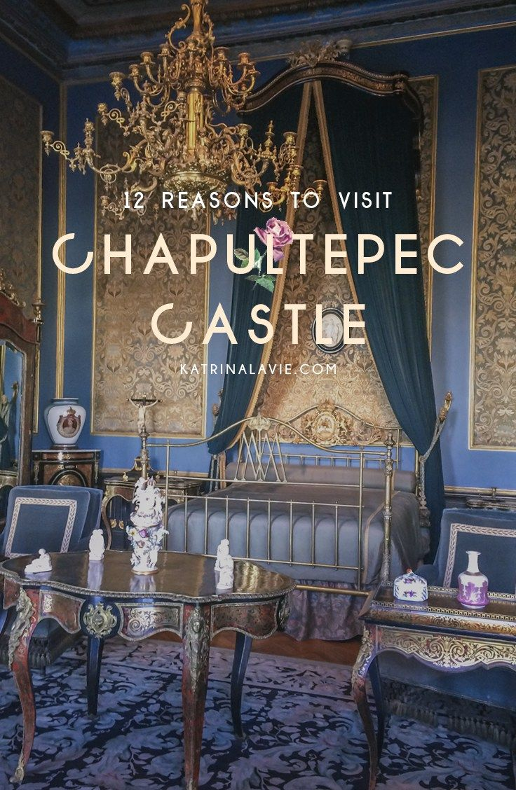 Should You Visit Chapultepec Castle in Mexico City? Read on! | http://www.katrinalavie.com