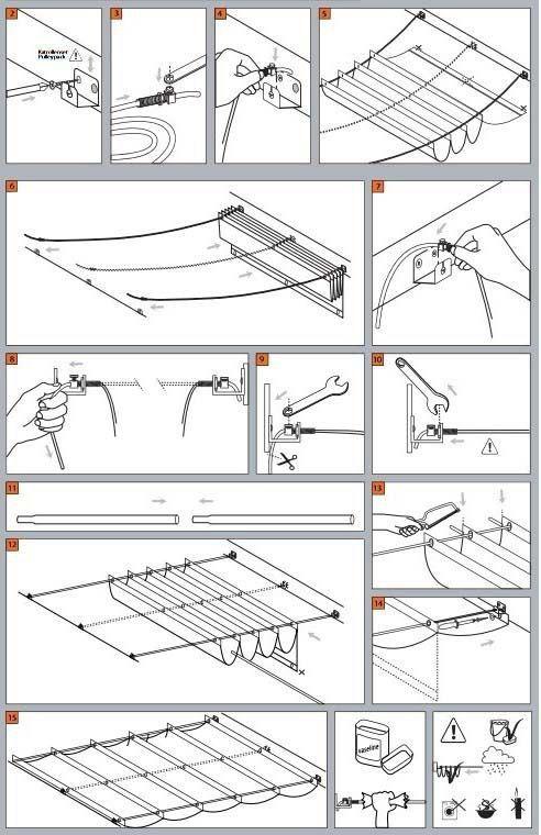 DIY Roman Courtins. Cool!