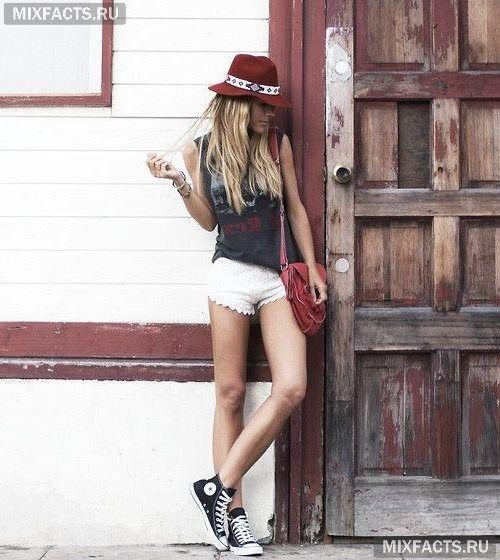 женская шляпа-федора