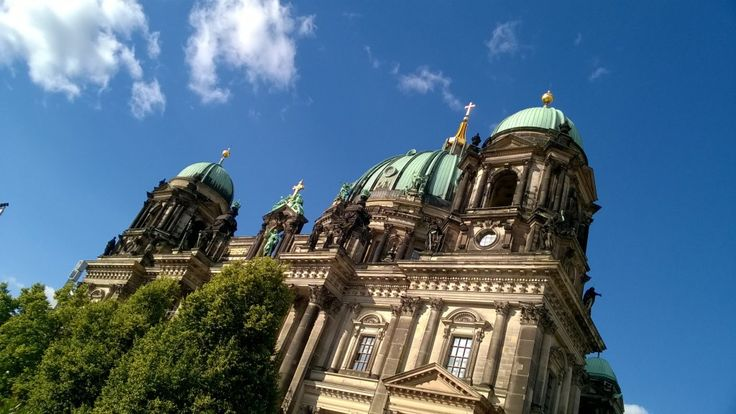 The Berliner Dom, beautiful building, especially in the sun! #travel #placestosee #Berlin #Cathedral