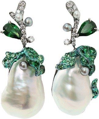 ARUNASHI South Sea Pearl Earrings $25,500 thestylecure.com