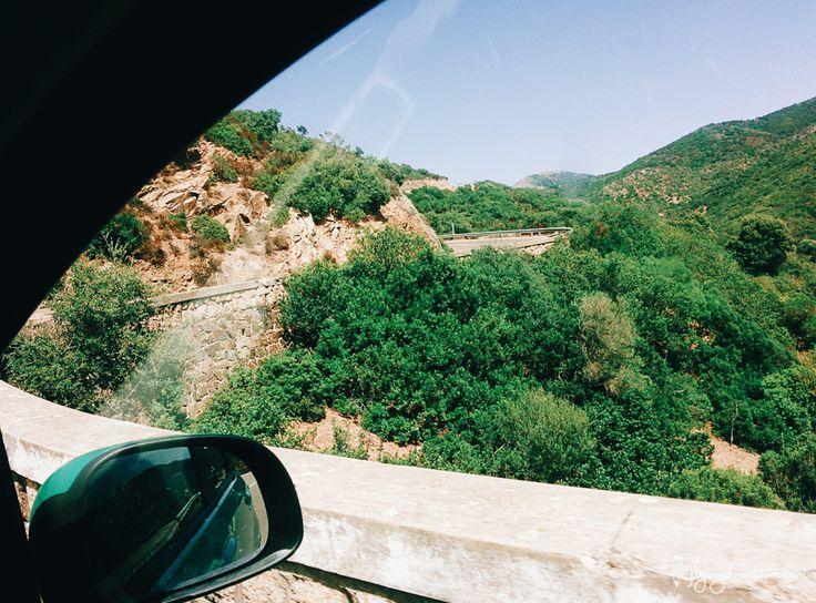 Les paysages de Sardaigne, les montagnes, le maquis...