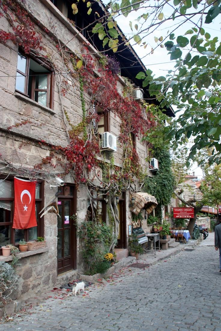 Village houses, Behramkale (ancient Assos), Turkey