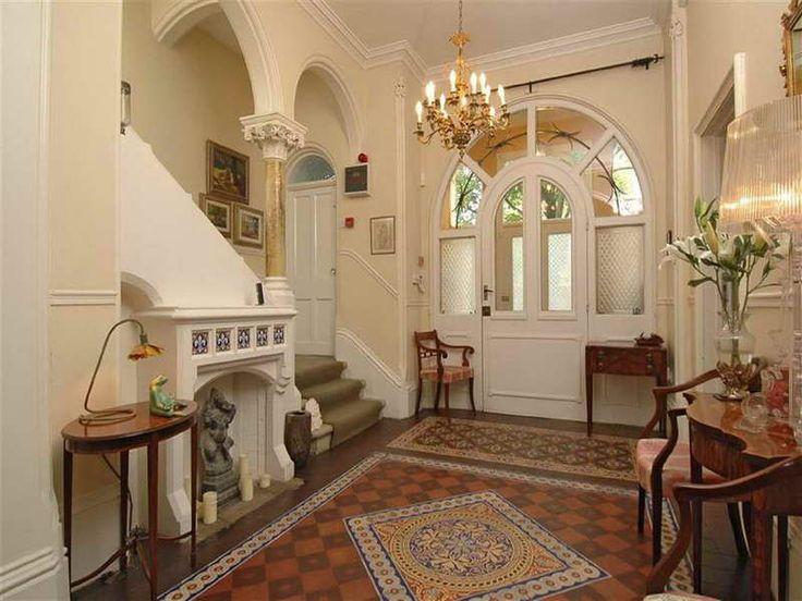 Elegant Victorian Staircase Design ~ Http://modtopiastudio.com/elegant House