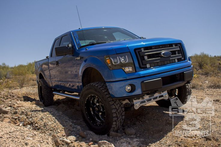 2011-2013 F150 ReadyLift 7-Inch Suspension Lift Kit