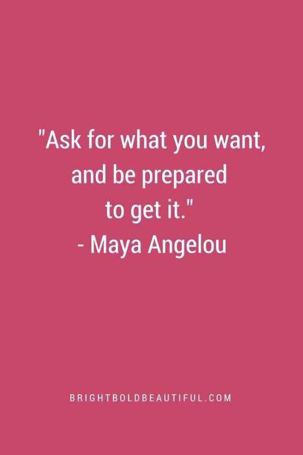 Maya Angelou quote #prepare