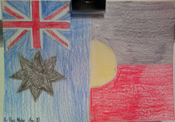 "A flag created at our ""Power of Symbols"" exhibition."
