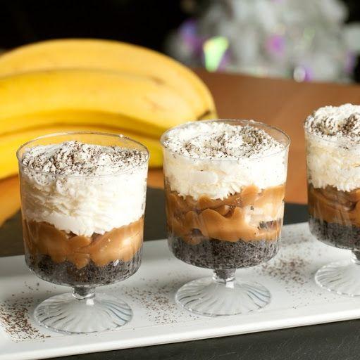 Mini Banana Dessert Shots Recipe on Yummly. @yummly #recipe