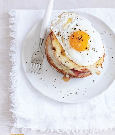 Croque Madame from Sweet Paul: Paul Magazines, Breakfast Brunches, Sandwiches, Croque Madame, Eggs Recipe, Food, Mornings Coffe, Sweet Paul, Sweets Paul