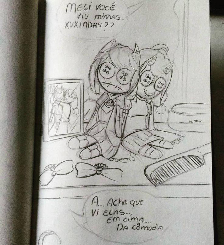 #sketch #sketchbook #doll #portrait #drawing #anime #mangá #kawaii #pencil #originalcharacter