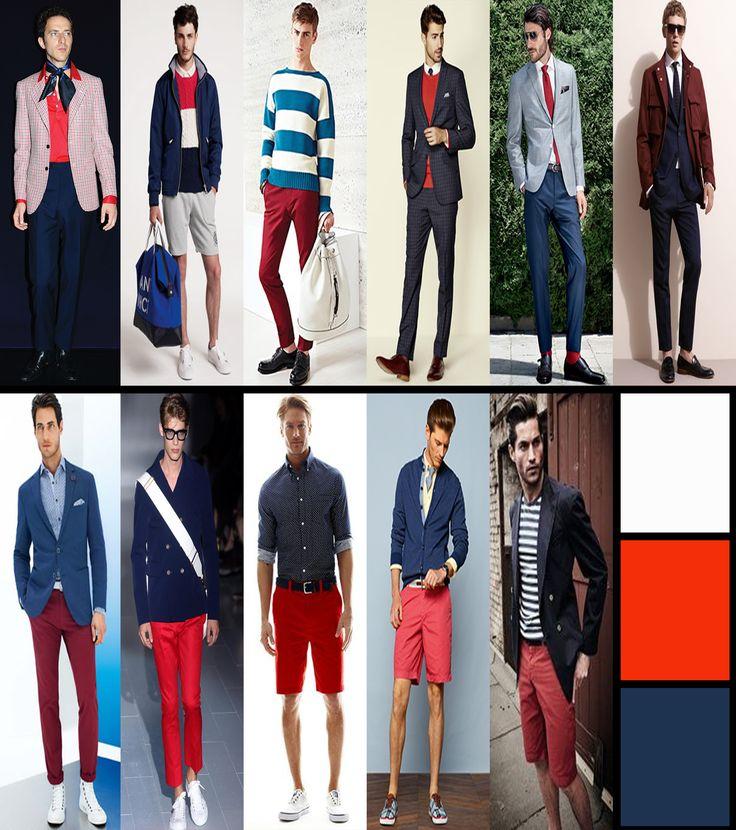 Hangi renkler, hangi renk kıyafetlerle giyinilir, kırmızı, beyaz ve mavi renkler, kırmızı, beyaz ve mavi tonlar ile uyumlu giyim önerileri, moda, trend, tarz ve stil kıyafetler, basgann lookbook