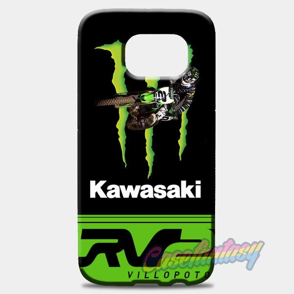 Ryan Villopoto Monster Thor Motocross Samsung Galaxy S8 Case | casefantasy