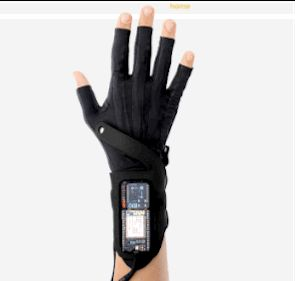 Imogen Heap engineered gloves that turn your movements into music.   These Gloves Turn Anyone Into A Talented Musician