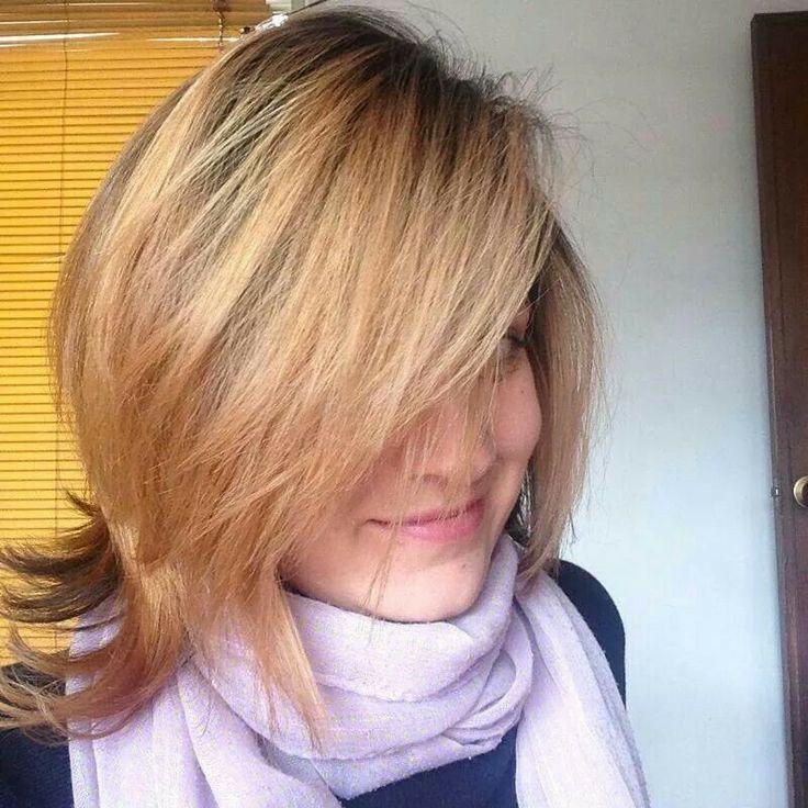 """#hair #Bronde ""#Cabello soleado"