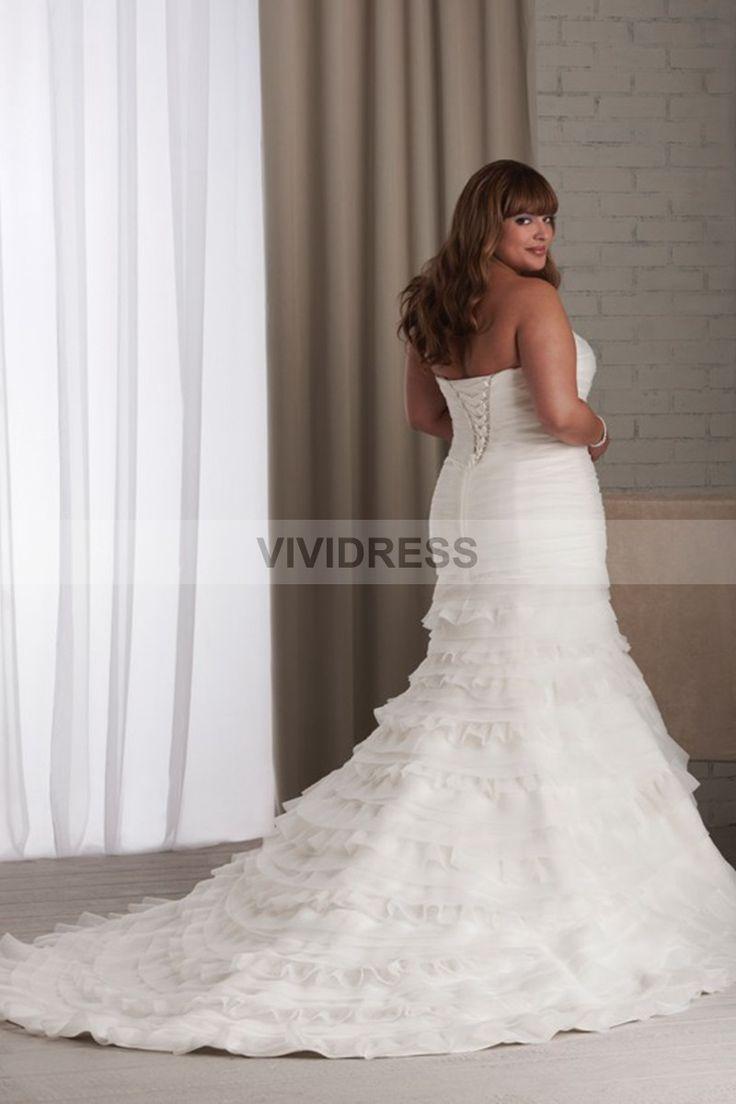 Plus size wedding dresses castleford - Plus Size Mermaid Wedding Dress