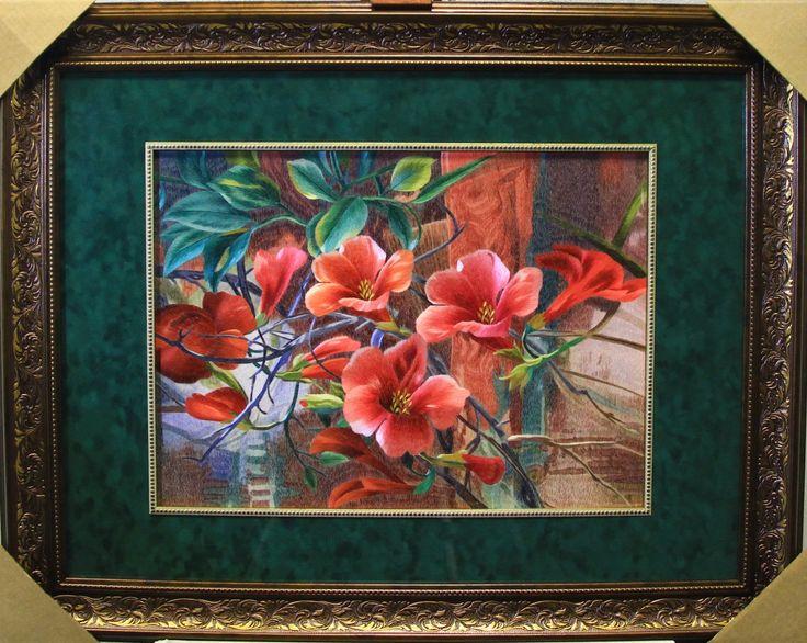 картина цветов купить