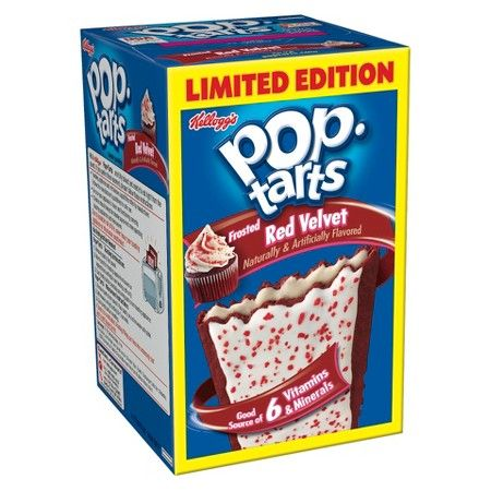 Kellogg's Pop-Tarts Frosted Red Velvet Pastries 8 ct : Target