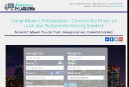 New Moving Companies added to CMac.ws. Cheap Movers Philadelphia in Philadelphia, PA - http://moving-companies.cmac.ws/cheap-movers-philadelphia/14317/