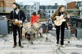 Recording Let it Be on the roof of Abby Road Studio