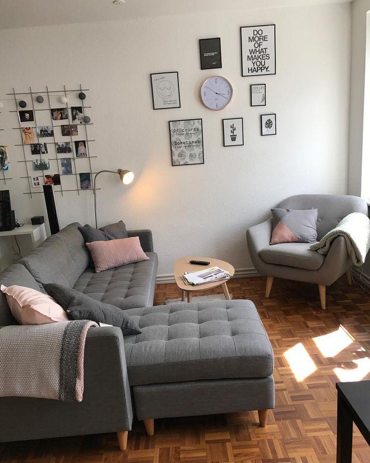"""31 Likes, 5 Comments - Amanda Jørgensen (@amandasjorgensen) on Instagram: """"Elsker mit lille hjem! #home #elskerelskerelsker #nysofa #jysk"""""""