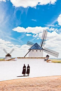 Campo de Criptana, Ciudad Real.I want to visit here one day.Please check out my website thanks. www.photopix.co.nz