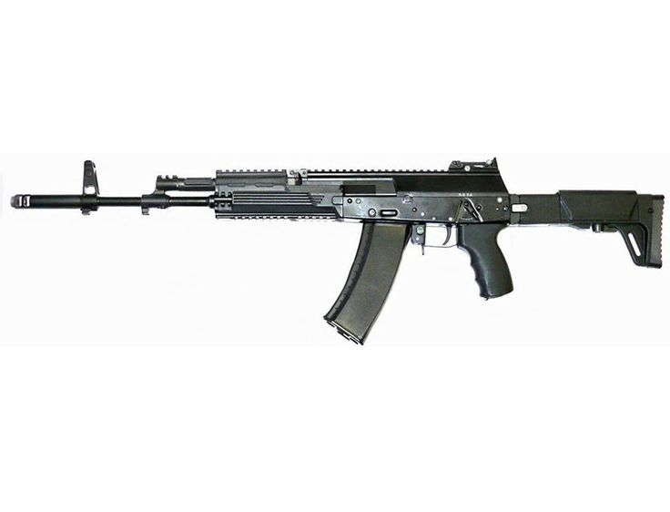 KALASHNIKOV AK-12 is the newest derivative of the Soviet/Russian AK-pattern series of assault rifles and was proposed for possible general issue to the Russian Army. In late September 2013, the AK-12 was passed over by the Russian military. The AK-12 uses the same gas-operated long-stroke piston system of previous Kalashnikov rifles, but many features are radically different from other guns in its family. The light version has the ability to change calibers by swapping barrels.