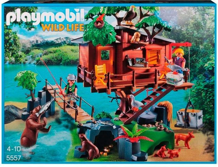 311 best images about playmobil on pinterest canon models and fortaleza - Casa del arbol de aventuras playmobil ...