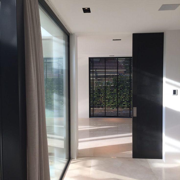 Doors Orange - Lederen schuifdeur XXL - Hoog ■ Exclusieve woon- en tuin inspiratie.
