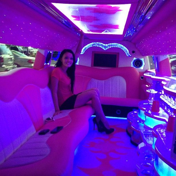 "Brittney Smith on Instagram: ""Forgot to put this up from last night :) loved the pink limo!"""