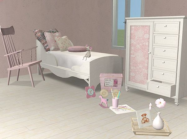 Cottage And Shabby Chic Furniture Decoration Sims 2 1