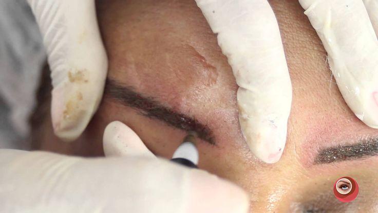 Micropigmentação - Alinhamento de Sobrancelhas