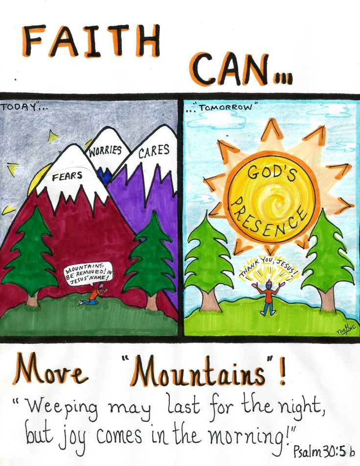 "faith will move mountain s Faith that moves the mountain "" the mountain represents jesus godnet navigation you will say to this mountain, 'move from here to there,' and it."