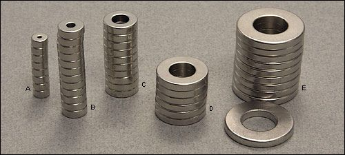 Rare-Earth Ring Magnets - Woodworking; maybe use for geocaching?
