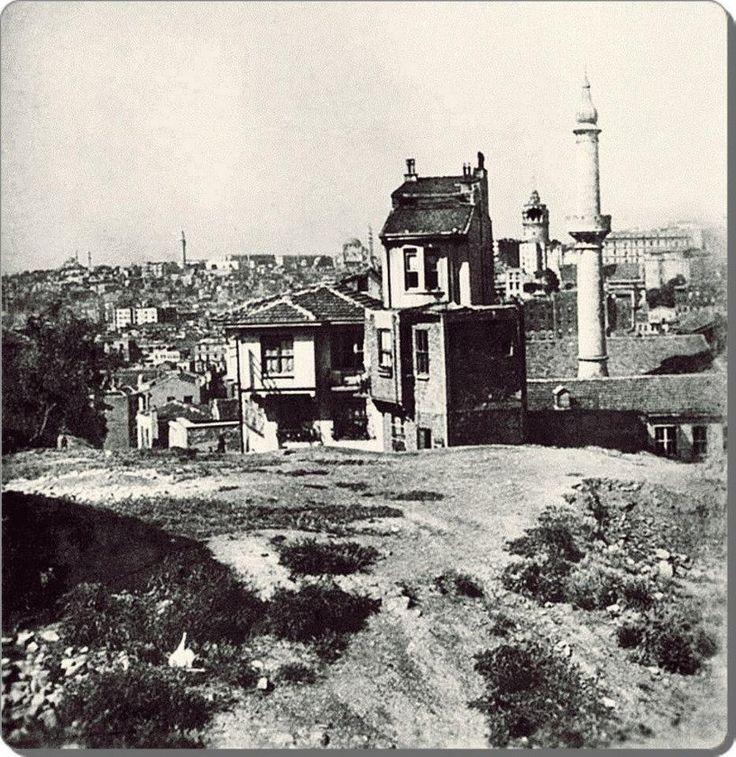 istanbul__Cihangir / Defterdar Camii - 1940