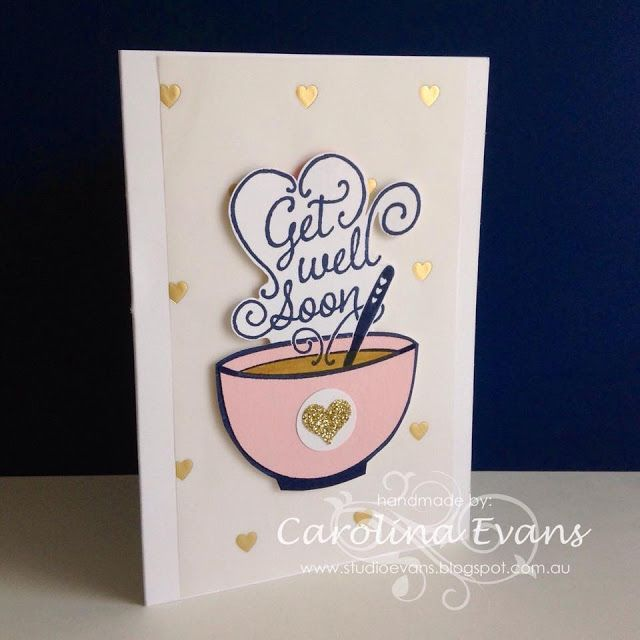 Card Making Ideas For Get Well Cards Part - 28: Just Add Ink Challenge #266 - Get Well Soup. Craft CardsDiy ...